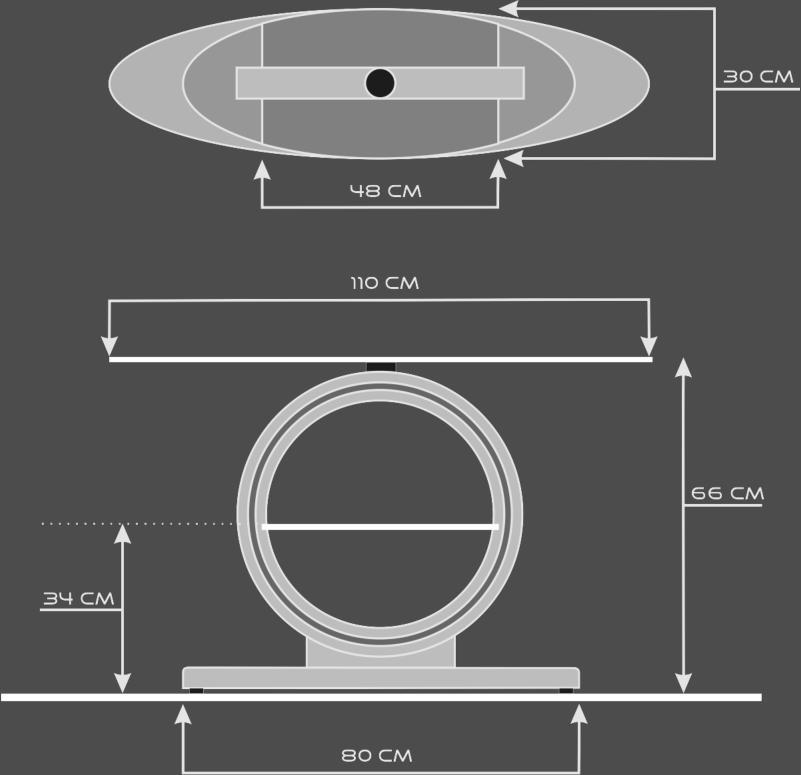 Porta televisore loop for Porta 1 20